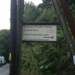 Sussex Fruit Tree Sign